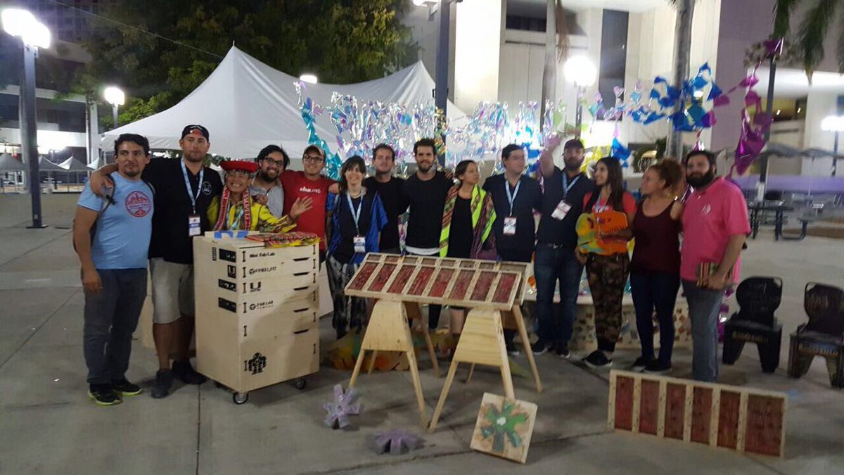 Miami Maker Faire Group Picture