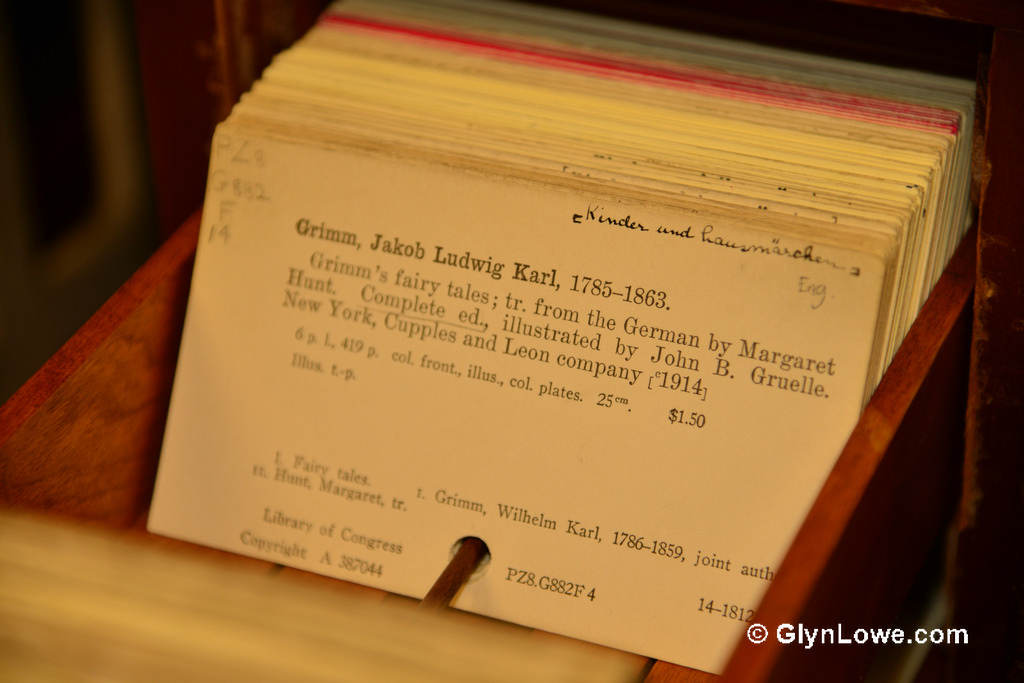 Card Catalog by Glyn Lowe on Flickr - https://www.flickr.com/photos/glynlowe/8495349616/